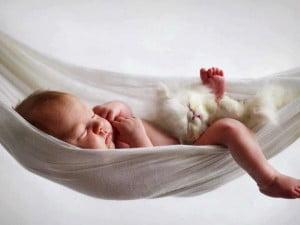 kedi_yavrusu_ve_bebek